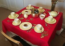 Wedgwood April Beaded Yellow W4144 tea set - 28 pieces