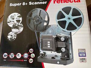 Reflecta Filmscanner Super 8+ wie neu in OVP Filmabtaster