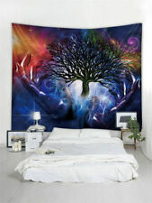 Psychedelic Tapestry Wall Hanging Tree in Hand Print Tapestry Art Home Decor USA