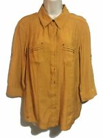Women's Spring/Summer Top Cargo Safari Country Shirt Blouse UK 14