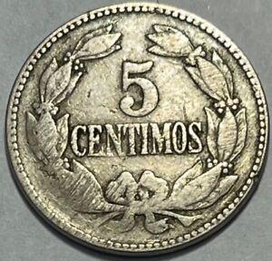 VENEZUELA - 5 Centimos - 1945(P) - Y# 30a - Struck in Philadelphia