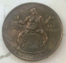 1923 Weimar Republic Germany Hyperinflation Medal