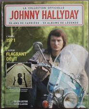 "JOHNNY HALLYDAY LA COLLECTION OFFICIELLE ""FLAGRANT DELIT""     CD"