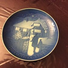 Bing + Grondahl 1973 Country Christmas Limited Edition Plate