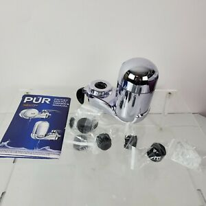 PUR Max Ion Chrome Water Filtration Sink Faucet Mount (No Filter Included)