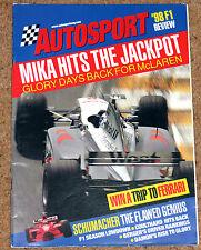 Autosport 1998 F1 REVIEW - Farewell Tyrrell, Top 10 Drivers, Michael Schumacher