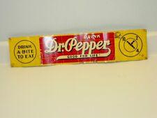 """Vintage Advertising Dr. Pepper Sign 10 2 4, Soda Pop , Original 23"""" X 5"""""""