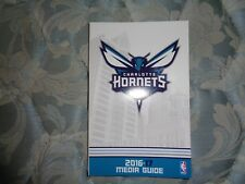 2016-17 Charlotte Hornets Media Guide Yearbook Program 2017 Press Book Nba Ad