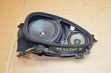 03-09 R230 MERCEDES SL550 SL500 SL600 FRONT RIGHT SIDE DOOR BOSE AUDIO SPEAKER