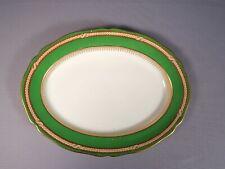 Copeland Spode Bradford LARGE Oval Platter  Green England 1900 Antique