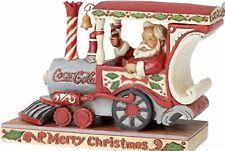 Jim Shore Santa Train With Coca Cola Coke