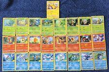 2021 McDonald's Pokemon 25th Anniversary Card Complete NON HOLO Set! In Hand!