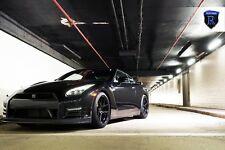 20x10 20x12 +22 Rohana RFX5 5x114.3 BLACK WHEELS Fit Nissan GTR R35 2015 STANCE