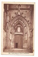 portail gothique de l'église de marennes