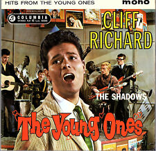 """CLIFF RICHARD & THE SHADOWS   EP COLUMBIA  """" THE YOUNG ONES """"   [UK]  (2)"""