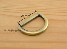 d ring d-rings purse ring alloying anti brass 25 mm 1 inch 10pcs U11
