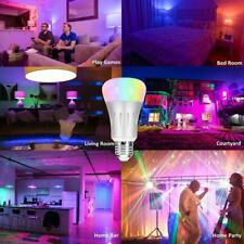 Smart Multi-color WiFi Led Dimmable Light Bulb.Works with Alexa and Google Home.