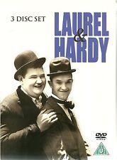 LAUREL & HARDY - 3 DVD BOX SET - UTOPIA, FLYING DEUCES & WOODEN SOLDIERS