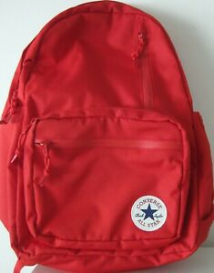 CONVERSE ALL STAR CHUCK TAYLOR GO BACKPACK RED NEW WITHOUT TAGS NWOT UNISEX