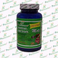 Capsulas Total Detox Max C/90 Desintoxicador del hígado, riñón, pancreas y colon