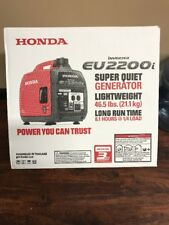HONDA EU2200i INVERTER SUPER QUIET LIGHTWEIGHT 2200 WATTS PORTABLE GENERATOR NEW