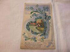 alt Prägekarte Ansichtskarte Postkarte Glückwunschkarte Künstlerkarte AK PK 1906