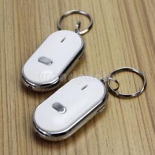 2pcs LED Key Finder Llavero Buscador Anti-Perdido Sonido Control Rastreador