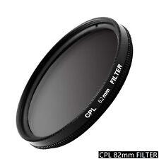 82mm CPL Circular Polarizer Filter Camera Photography Lens Ultra Slim