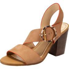 Lucca Lane para Mujer Torrance Cuero Talón Sandalias Zapatos BHFO Slip On 9107
