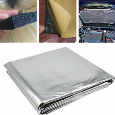 1x1.4M Auto Turbo Exhaust Muffler Insulation Heat Shield Mat Hood Deadening Pad