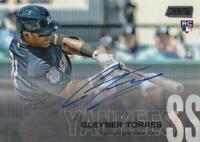 MLB Card 2018 Topps Stadium Club Gleyber Torres Autographs 04/2