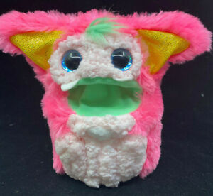 """Pink Toy Takara Tomy Rizmo Green Mouth Furry Battery Operated Interactive 8"""""""