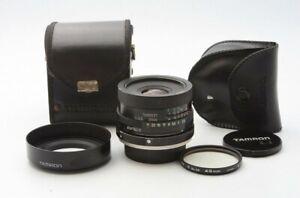 Rare Tamron 28mm F2.5 BBAR MC lens for Konica AR Mount T3 TC FS FC w/Hood 22303