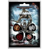 Official Licensed Merch 5-PLECTRUM PACK 1mm Guitar Picks AMON AMARTH Jomsviking