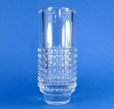 Vase Clear Scandinavian Art Glass