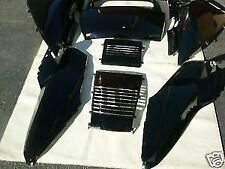 SET OF BLACK HONDA HELIX CN250 FUSION CN 250 SCOOTER UPPER PANELS