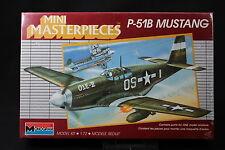 YE065 MONOGRAM 1/72 maquette avion 5005 P-51B Mustang Mini Masterpieces P51B