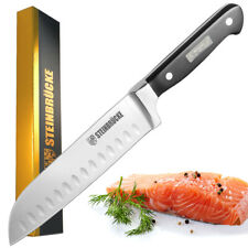 Kitchen Knife 8 Inch Santoku Knife German Stainless Steel Meat Knife Ultra Sharp