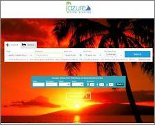 """Agenzia di viaggi sito Web aziendale ingenti commissioni. """" 9000 visitatori di un mese"""""""