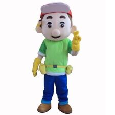 Fancytrader Handy Manny Mascot Costume Fancy Dress Halloween EPE Head