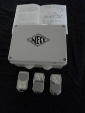 Neco mark 1 Roller Shutter Garage Door Remote Control With 3 x Fobs