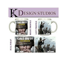 Call of Duty WWII  Personalised Gaming Fan Mug