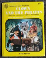 THE ADVENTURE ISLAND STORY BOOKS~ CLOWN AND THE PIRATES 1969~JOHN MICHAEL HOWSON