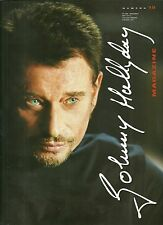 LIVRE - JOHNNY HALLYDAY : MAGAZINE N° 15 SON FILM L' HOMME DU TRAIN / COMME NEUF