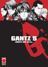 manga GANTZ N. 5 - NUOVA EDIZIONE - nuovo - panini ITA