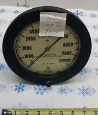 6-1377talos 100 subd 1-10000 liquid oxygen service  A.I.S.I 316 GAUGE GAGE