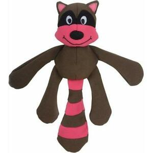 NEW Flap Brown and Pink Raccoon Dog Toy Tender-Tuff TearBlok by SmartPetLove