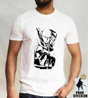 One Punch Man Saitama T shirt OPM Hero Genos Anime Adult Mens Tee Top