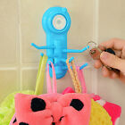New 1x Bathroom Kitchen Strong Wall Sucker Vacuum Suction Cup Swivel Hook Hanger