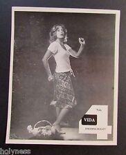 VINTAGE PRESS PHOTO / JOHANNA ROSALY / WAPA TV / PUERTO RICO / 1970's #2